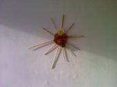 Decoratiune soare handmade